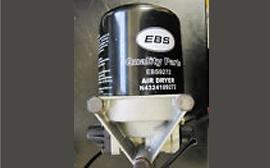 EBS Compressed Air System Air Dryer 432410 Series